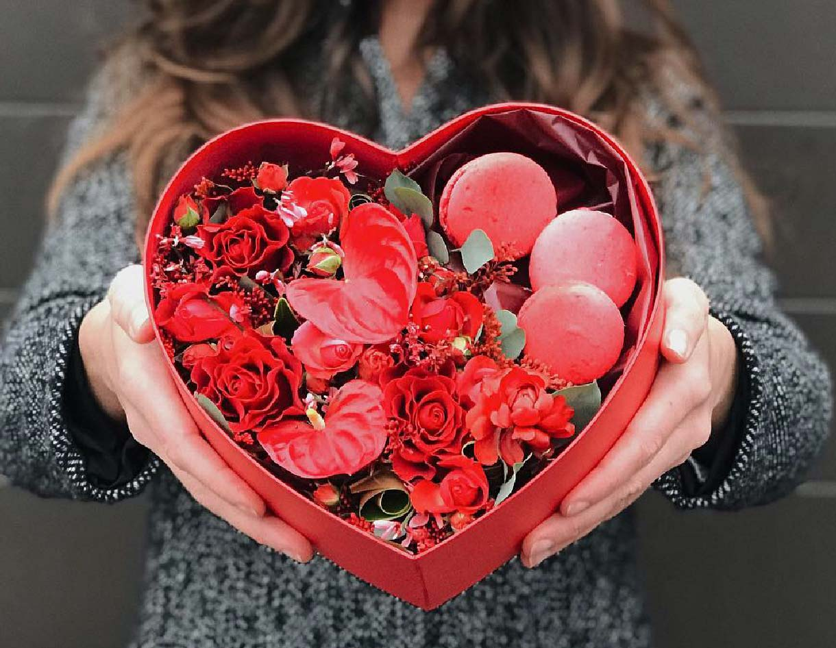 Мастер-класс «Цветочная Валентинка для любимых»