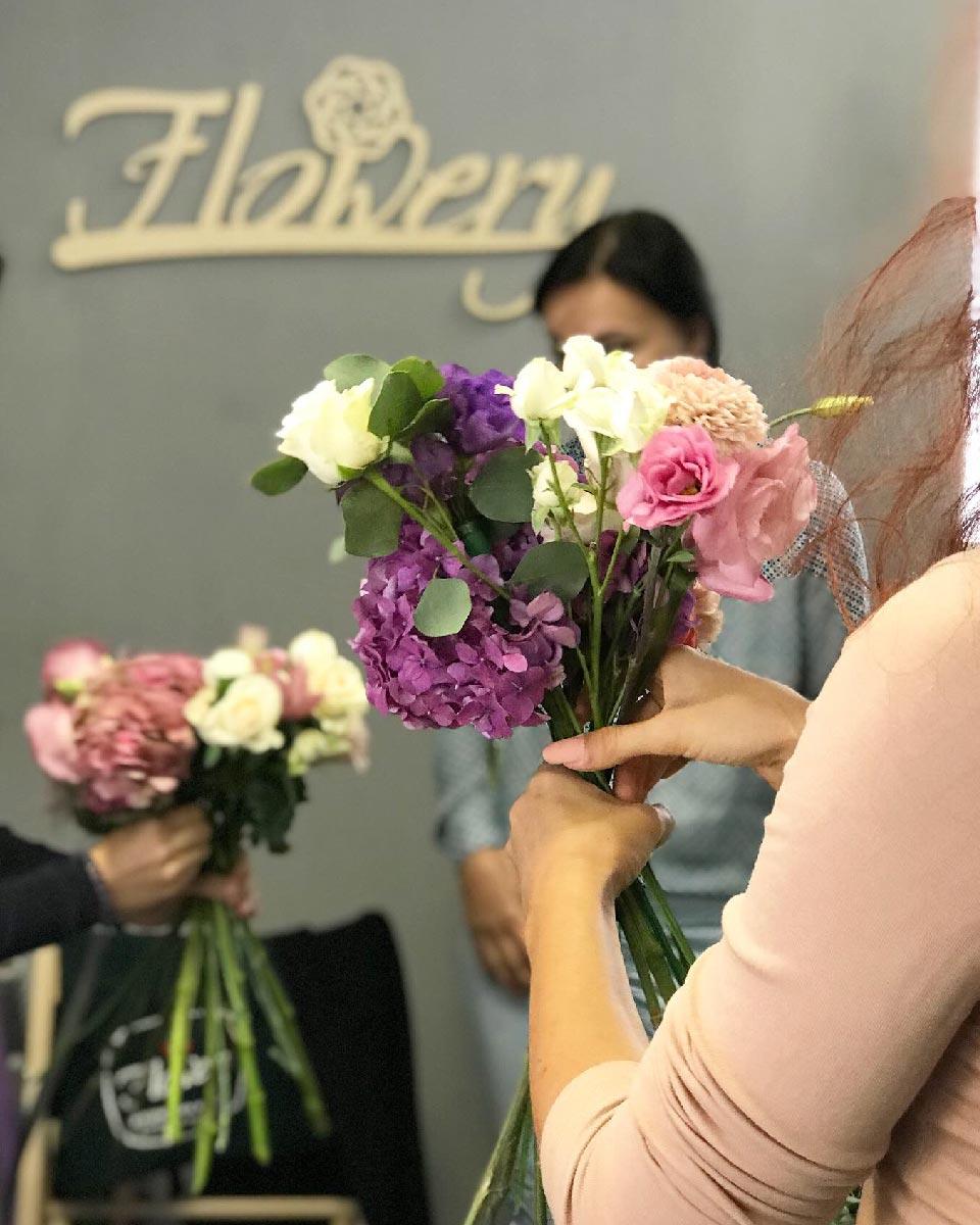 """курсы флористики""""Flowery"""" Харьков"""
